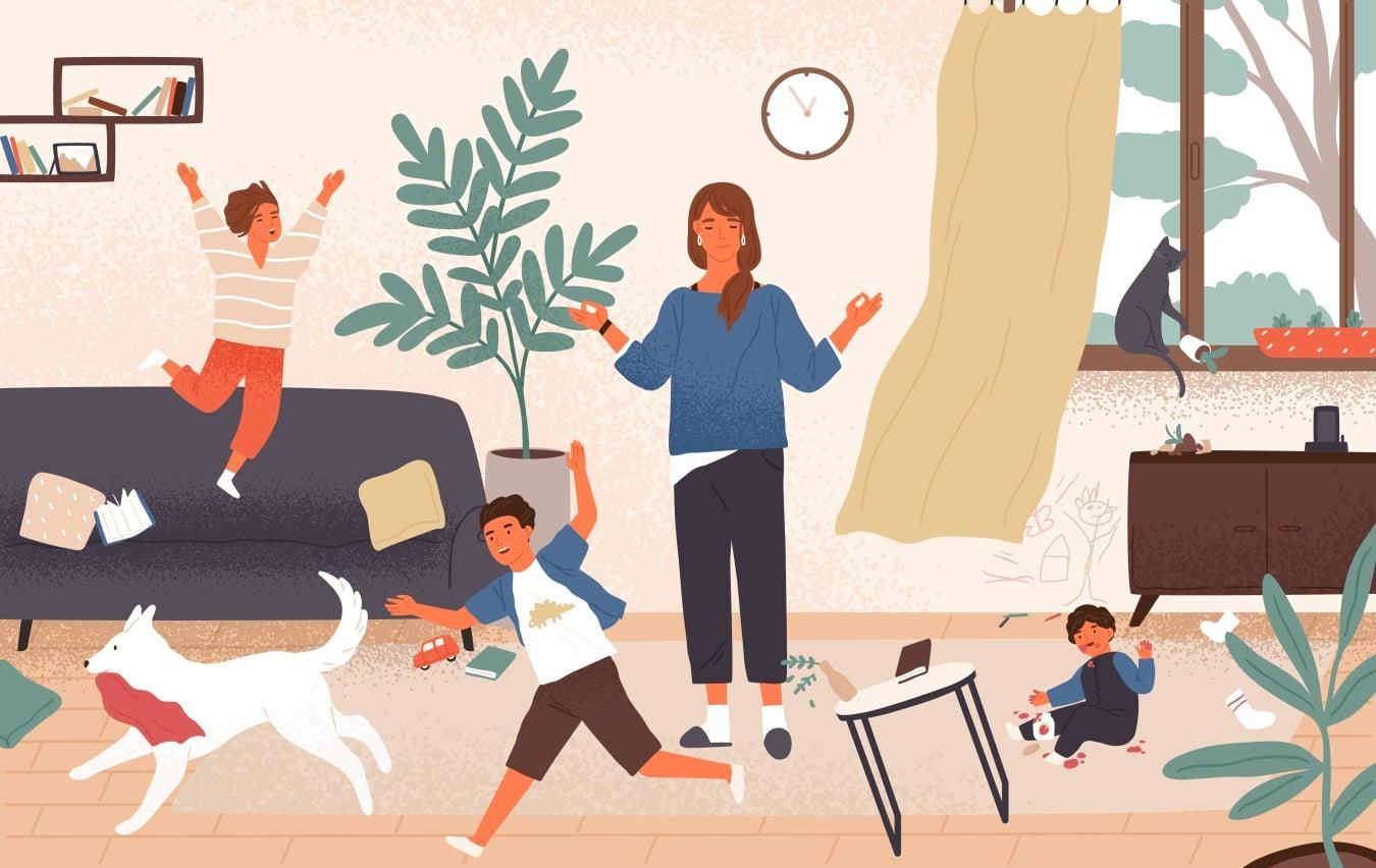 эмоциональное выгорание мамы как справиться