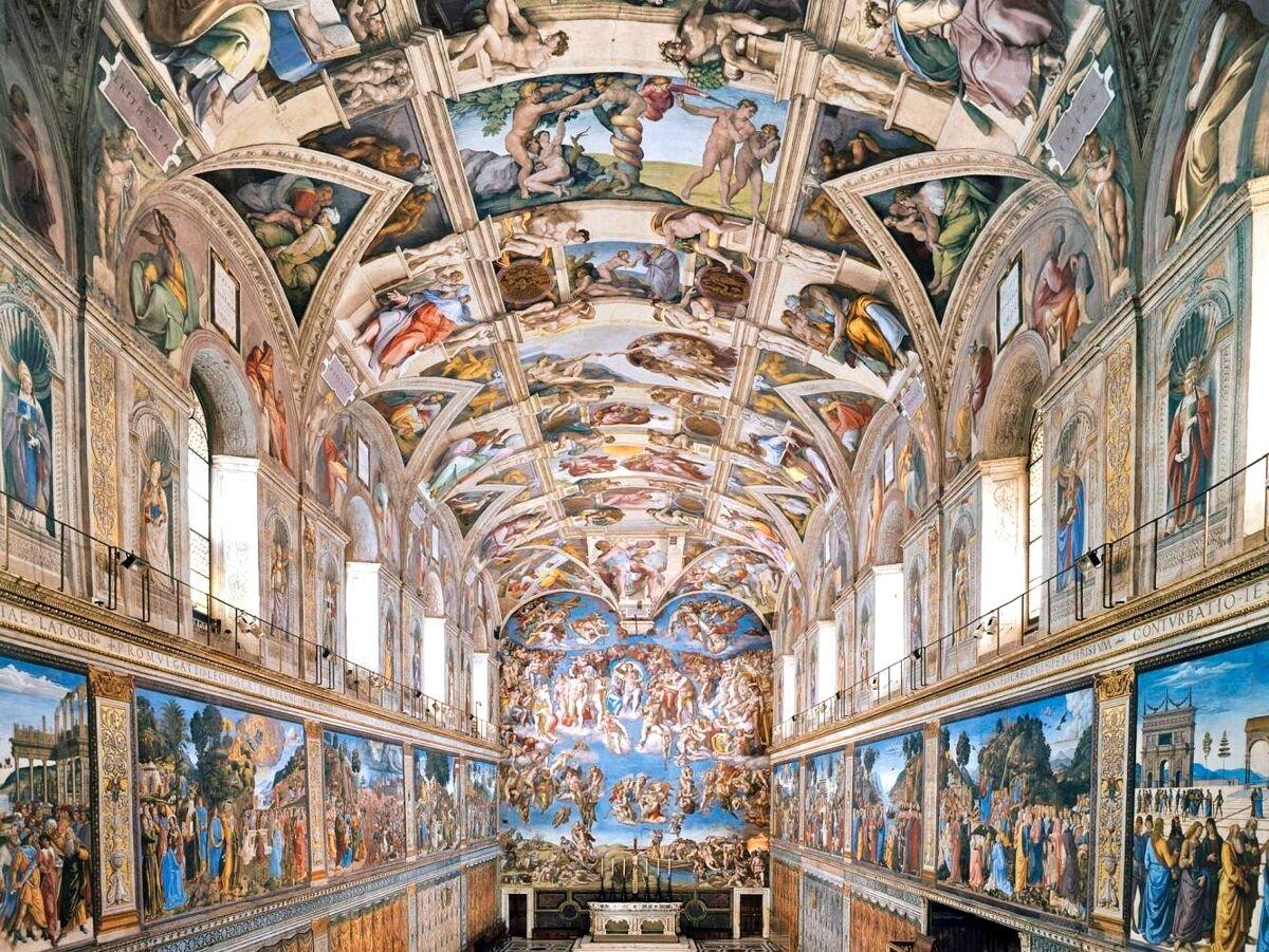 Сикстинская капелла, Ватикан, Рим