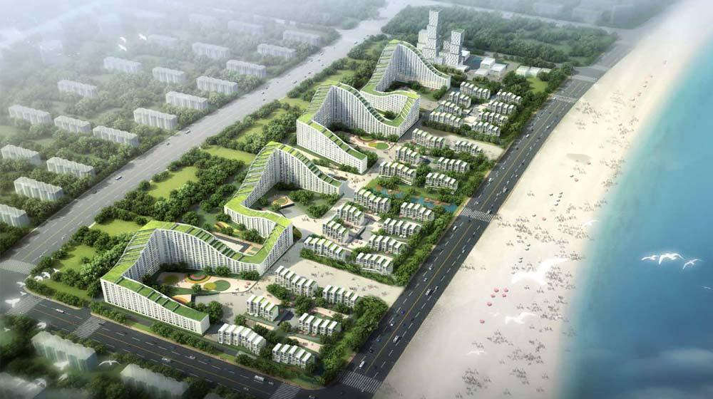 dongjiang harbor master plan 1
